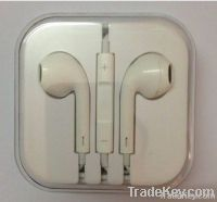 Earphone for IPhone 5 with MIC and Volume control