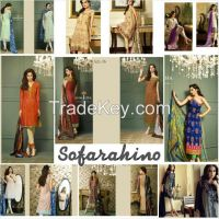 Branded unstitch suits available now by Sofarahino at wholesale rate