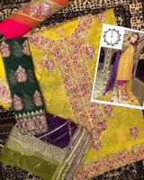 Branded unstitched suits 2020 by Sofarahino at wholesale price