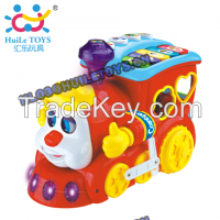 HUILE Toys Smart Q & A Cartoon Train 556