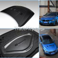 Mammoth carbon fiber hoods bmw F30