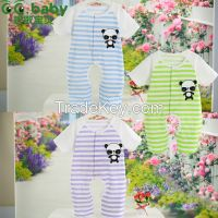 Branded Summer Romper Newborn Clothing Unisex Cotton Brand Baby Rompers Panda Baby Clothing Rompers Infant Jumpsuit Baby Boy
