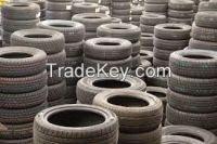 Used passengers' tires