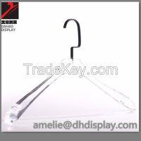 Acrylic hangers coat hangers for garment retail display