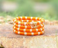 Silk Bangles, Thread Bangles at Wholesale