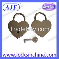 AJF heart shaped Love Padlock - Top quality Lovelock, Gift