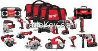 Free Shipping Milwaukee 2696-15 18V Cordless M18 Lithium Ion 15 Tool Combo Kit
