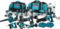 Free Shipping LXT1500 18 Volt 15PCS Tool Lxt Lithium Ion Cordless Power Combo Kit 18V