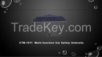 XTM-1511  Multi-function Car Safety Umbrella
