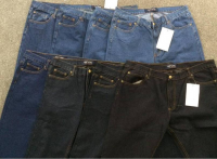 TOP LEVEL brand stocklot on sales, 34, 272pcs Men's straight denim pants TC2-386