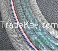 Reinforced pvc hose, pvc nylon braided hose from China