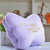 butterfly shape car set cushion pillows