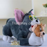 Animals Soft Stuffed Customized Children Cats Toys Presents