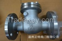 ANSI /JIS /  Flanged swing type check valve ,WCB/CF8/CF8M
