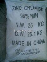 Zinc Chloride ZnCl2 98.0%