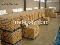 SG3/SG5/SG6/SG7/SG8 PVC Resin with K Value K67/K65/K68