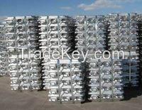 99.7% Aluminium Ingot in Stock