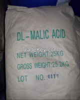 HACCP,HALAL,KOSHER certificates organic natural powder malic acid price