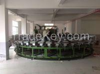 Fully Automatic Rotary Polyurethane PU Shoe Sole Foaming Machines