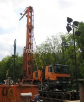 Multifunctional hydraulic drilling rig