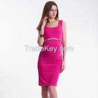 Maternity tank dress, basic dress, Tencel viscose