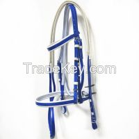deluxe waterproof PVC horse bridle and rein
