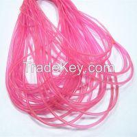 solid flexible transparent pvc rope