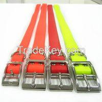 eco-friendly and waterproof pvc dog collar