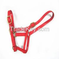 PVC Horse halter with solid brass fittings