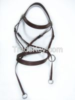 Bitless pvc horse bridle and rein