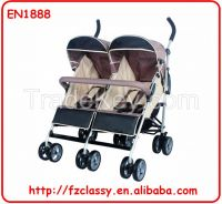 2015 new good twin baby stroller, baby stroller for twin