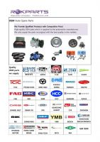 Korean Spare Auto Parts - OEM