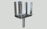 FOUR WAY HEAD FOR H BEAM GALVANIZED