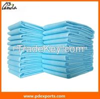 Comfortable disposable underpad for adult care