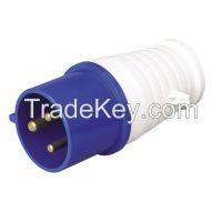 Waterproof industrial plug