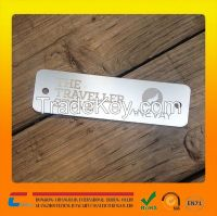 Wholesale custom anodized aluminum namplate for your products