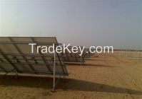 Solar bracket for Screw Pile