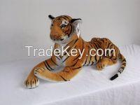Real Life Animal Stuffed Tiger Plush Toy