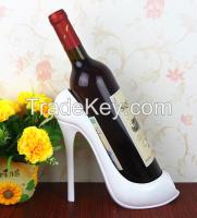 Polyresin Resin High Heel Wine Bottle Holder