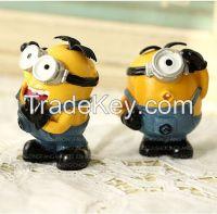Resin cartoon miniature sculptures polyresin craft