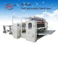 Fully automatic facial tissue production line