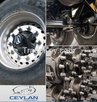 Highest Quallity Turkish Made Axle and Suspension Systems for Semi trailers