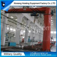 stand column 360 degree jib crane
