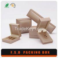 China Factory Leather Jewelry Box, Leather Gift Box