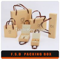 Luxury Packaging Paper Box With Handle