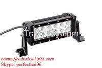 7.5'' Double row Cree 36W light bar with side bracket