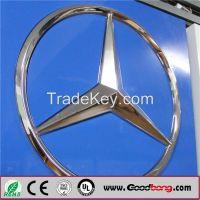 Custom Car Shop Large Plastic car Emblems