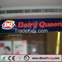 Advertising Square Silk screen LED Illuminated Sign Light Box