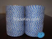 wire fence,electric fence plastic post, pasture fence,electricity rope,pe/pp rope,twine,made in china