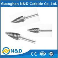 Ellipse carbide grinding burs